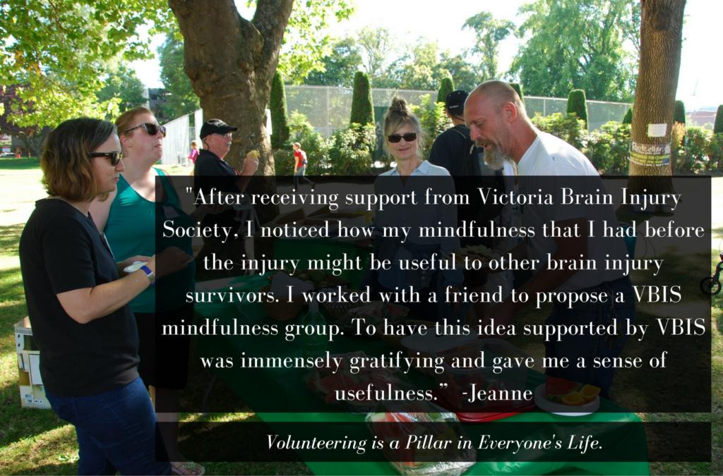 Jeanne Volunteer Victoria Story