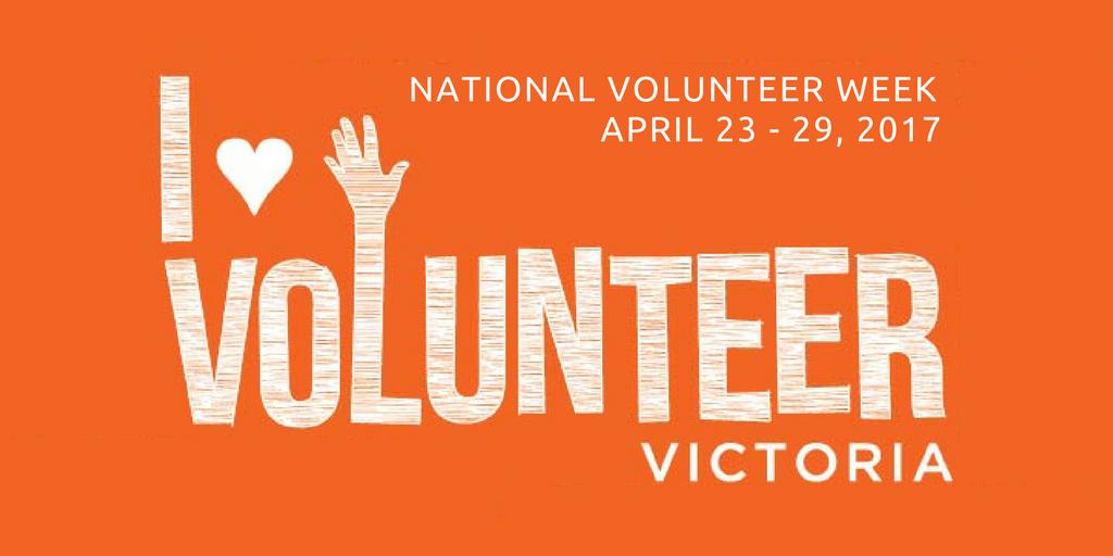 National Volunteer Week 2017 Volunteer Victoria