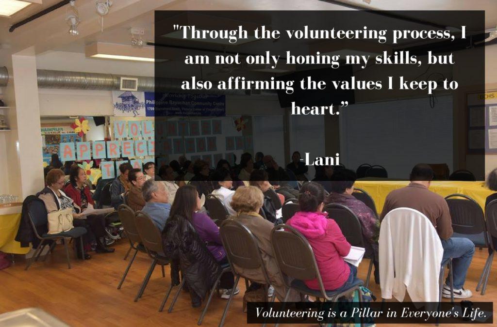 Lani Volunteer Victoria Story